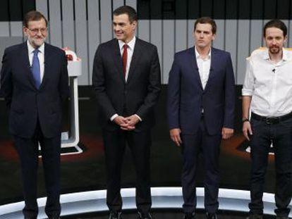 Tras más de dos horas de debate entre Rajoy, Iglesias, Sánchez y Rivera, opina sobre el vencedor