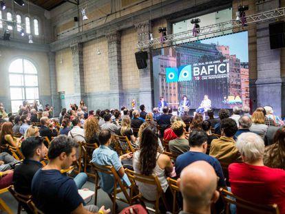 Sesión de apertura del Festival de Cine Independiente de Buenos Aires (BAFICI) en su edición de 2019.