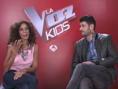 Los 'coaches' de 'La Voz Kids' hablan sobre su experiencia en el programa.