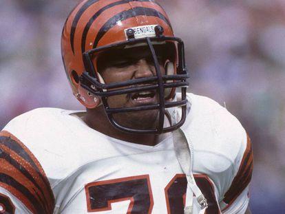 El exjugador de los Bengalíes de Cincinnati, Anthony Múñoz.