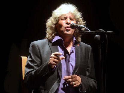 El cantaor José Mercé en gala flamenca del Festival Internacional del Cante de las Minas de La Unión.
