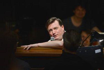 Christian Thielemann, durante el ensayo.