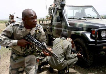 Miembros del Ejército de Malí en una foto de archivo.