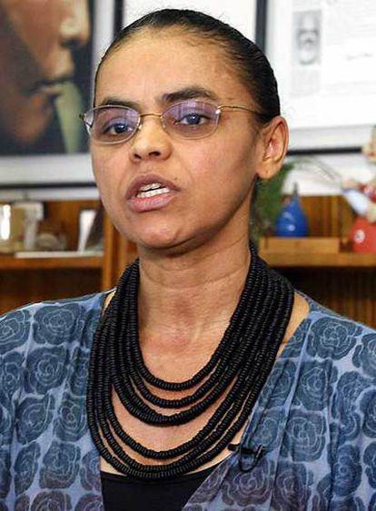 Marina Silva, durante una entrevista en 2007.