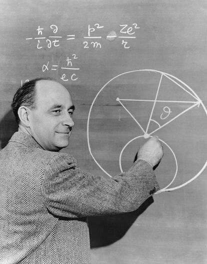 El  italiano Enrico Fermi (1901-1954), premio Nobel de Física en 1938.