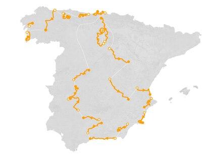 La Vuelta a España 2021, de la catedral de Burgos al Obradoiro