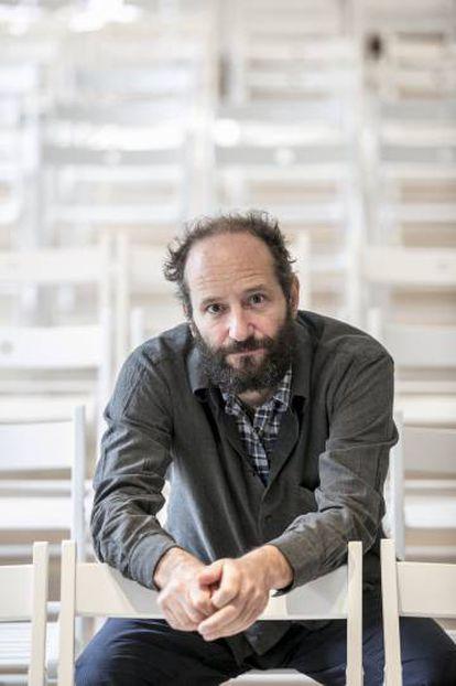 El director mexicano de cine Carlos Reygadas, en Madrid.