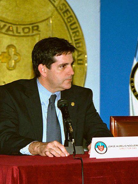 Jorge Noguera, exjefe de la inteligencia colombiana.