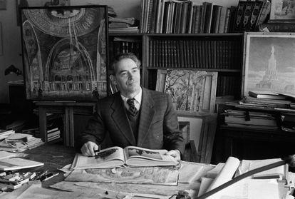 El arquitecto Boris Iofán, diseñador de la Casa del Gobierno.