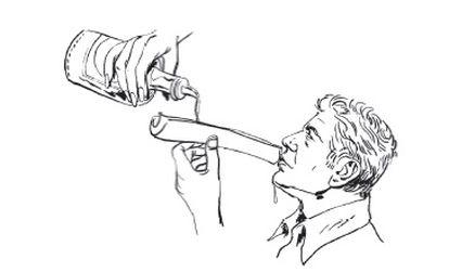 Ilustración de Bourdain en el libro 'Comer, viajar, descubrir', realizadas por Wesley Allsbrook.
