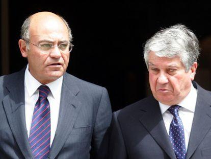 Los empresarios Gerardo Díaz Ferrán y Arturo Fernández.