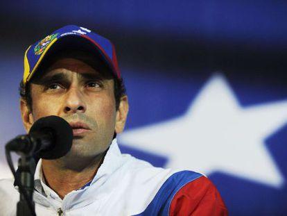 Una imagen de archivo de Henrique Capriles.