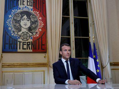 Macron, a la defensa de los símbolos europeos