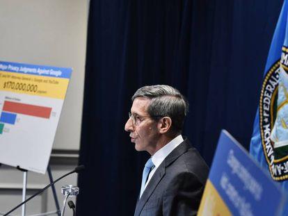 El director de la Comisión Federal de Comercio de EE UU, Joe Simon.
