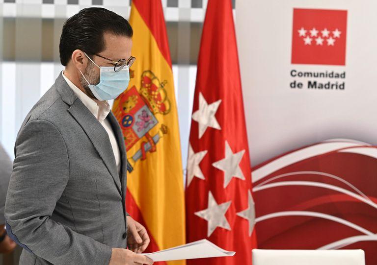 El consejero madrileño de Hacienda y Función Pública, Javier Fernández-Lasquetty.