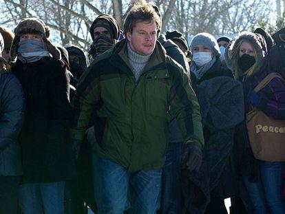 Matt Damon, en 'Contagio'