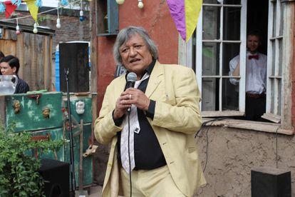 Óscar Castro, en Santiago de Chile en 2016