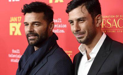 Ricky Martin y Jwan Yosef, el pasado lunes.