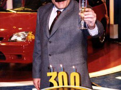 Constantino Romero, al cumplir 300 programas de 'Alta tensión'