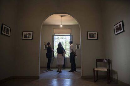 Interior de la casa del poeta Vicente Aleixandre.