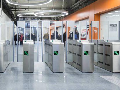 La nueva estación de metro de la Ciudad de la Justicia, en L'Hospitalet.