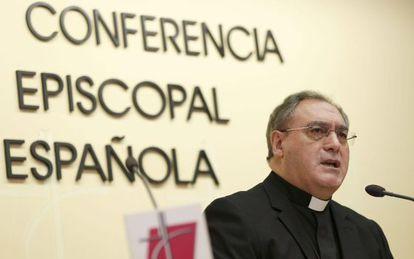 José María Gil Tamayo, de la CEE, este jueves.