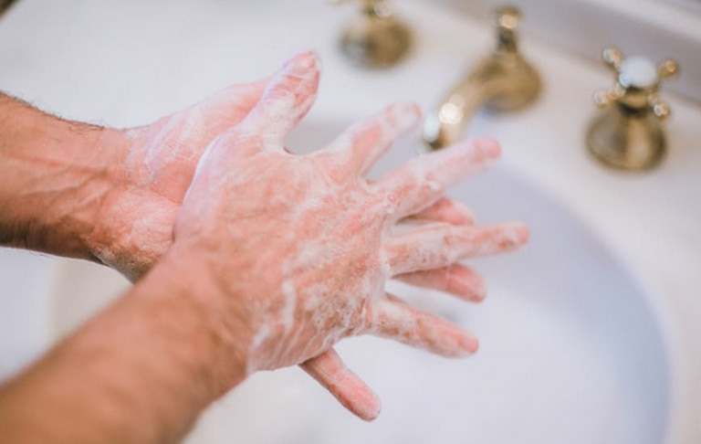 One of the things you can do to stay healthy during the coronavirus outbreak is to wash your hands often.