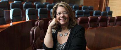 La dirigente popular Elvira Rodríguez.
