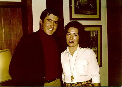 Severiano Ballesteros y Elvira Larrazabal.