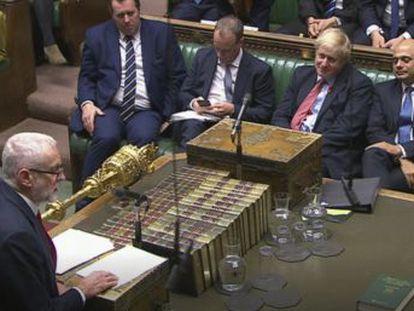 El primer ministro Boris Johnson logra que una mayoría de diputados respalde el adelanto electoral