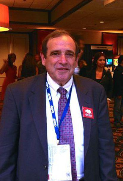 Ron Gold, en la convención republicana de California el pasado domingo.
