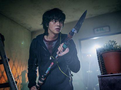 Una imagen de la serie de terror coreana 'Sweet Home'.