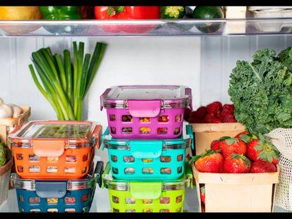 Mis cinco accesorios imprescindibles (y baratos) para organizar el frigorífico desde el primer día