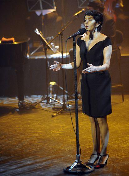 Luz Casal, en París.