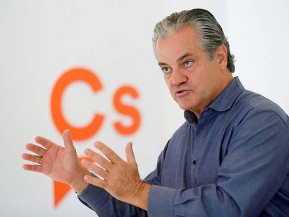 El portavoz económico de Ciudadanos en el Congreso, Marcos de Quinto.