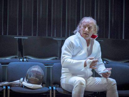 Lluís Homar, de Cyrano.