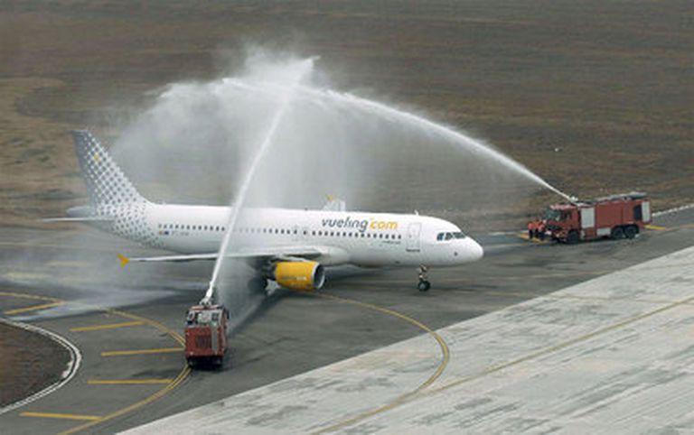 Bautismos en la aviación
