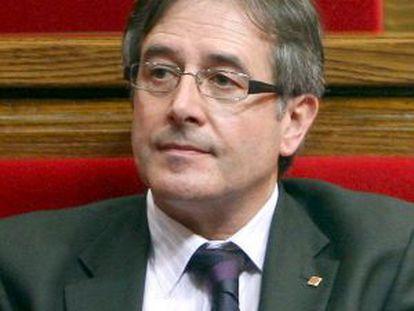 Fotografía de archivo (10/3/2010, en Barcelona) del exconseller de ERC Jordi Ausàs.