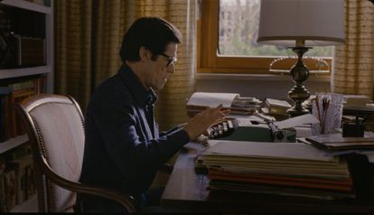 Willem Dafoe, en un fotograma de 'Pasolini'.