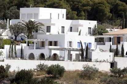 La villa de Doroufi, en Grecia, de los reyes de Holanda.