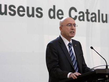 L'exconseller de Cultura Joan Manuel Tresarras.