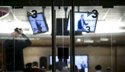 Imagen de una sala de los estudios de TV3 en Sant Joan Despí