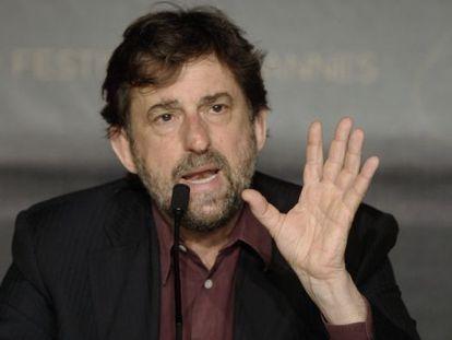 El director italiano Nanni Moretti.