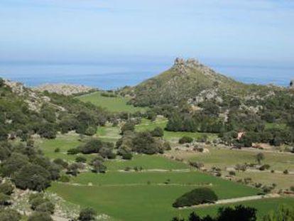 Finca de Ariant (Mallorca).