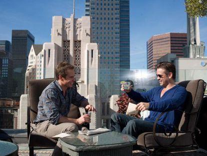 Sam Rockwell y Colin Farrell, en un momento de filme.