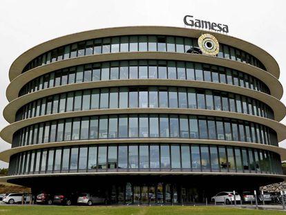 Imagen de la sede de la compañía Siemens Gamesa de Sarriguren (Navarra).