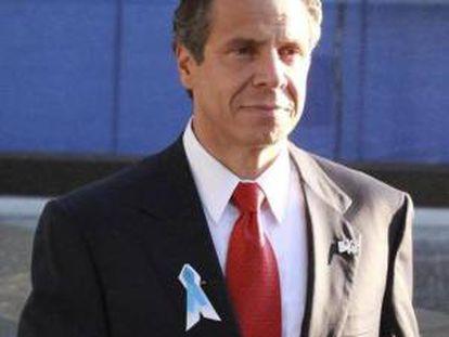 En la imagen, el gobernador de Nueva York, Andrew Cuomo. EFE/Archivo