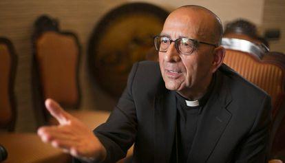 El cardenal-arzobispo de Barcelona, Juan José Omella.