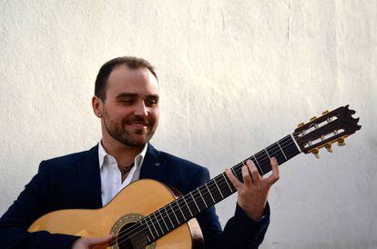 El guitarrista jerezano Santiago Lara.