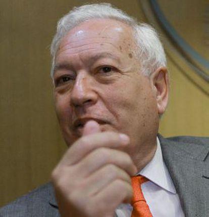 García-Margallo, en una foto tomada ayer.